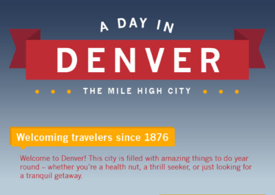 A Day in Denver – Infographic